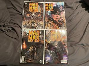 Mad Max Fury Road Comic Set 1-4 Movie Prequel Immortan Joe Furiosa  Nm/m Vertigo