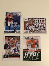 Score 2017 David Njoku Lot 4 RC Rookie Draft Hype Big Man on Campus Browns