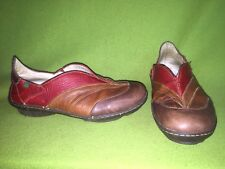 Red & Brown El Naturalista Flats 8 39