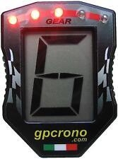 Contamarce led indicazione cambio marcia per moto-auto-kart, con connettore