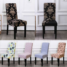 1PCS Universal Elastic Chair Cover Floral Seatcover Stretch Wedding Home Decor