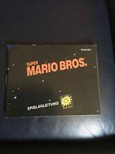 Spielanleitung für Super Mario Bros.