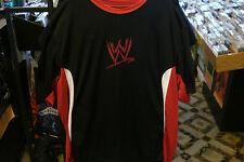WWE Red and Black Moisture Management T-Shirt 2XL