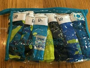 NEW GAP Boys Size Small 6/7 Briefs Underwear Lot of 7 Pair Alien Outer Space