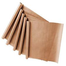 Yesloo 5 Pack PTFE Teflon Sheet for Heat Press Transfer Sheet Non Stick Heat Mat
