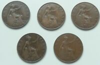 HEATON AND KINGS NORTANPENNIES 1912H , 1918H, 1918KN, 1919H ,1919KN
