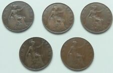 More details for heaton and kings nortanpennies 1912h , 1918h, 1918kn, 1919h ,1919kn