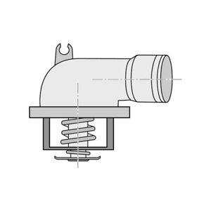 THERMOSTAT FOR MERCEDES BENZ R-CLASS R 280 CDI W251,V251 (2006-2017)
