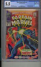 MARVEL SUPER-HEROES #13 CGC 5.5 1ST CAROL DANVERS CAPTAIN MARVEL