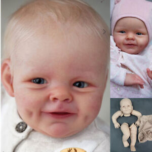 """21"""" DIY Reborn Doll Kit Popular Sweet Face Fresh Color Soft Touch Doll Parts"""