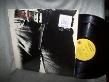 """Rolling Stones  """"Sticky Fingers""""  in SHRINK   HYPE STICKER    ZIPPER    1971"""