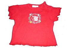 Feetje tolles T-Shirt Gr. 68 rot mit Druckmotiv !!