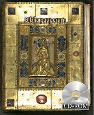 Biblia pauperum Paupers' Bible 1415 AD Manuscript Incunabula Mettener Armenbibel