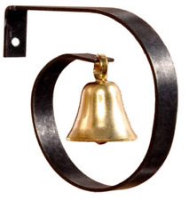Dollhouse Miniature Brass Dinner Bell or Porch Shop Bell 1:12 Scale Accessory