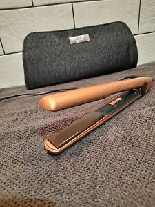 GHD Mk5 Hair Straighteners Original Ltd Edition Rose Gold Ex Con With Heat Mat