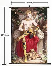 Anime Fate Zero Fate Grand Order Gilgamesh Wall Scroll Home Decor cosplay 2136