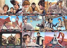 STAR WARS ILLUSTRATED 2013 TOPPS COMPLETE BASE CARD SET OF 100