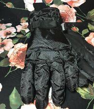 Men's Ski Gloves Black - Merona (XL)✅⛷