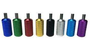 8 pack - Anodised Aluminium Tattoo Grips & Tubes Quality UK  22mm