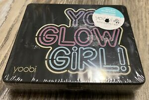 Yoobi Mini Supply Kit - You Glow Girl - Black Case W/Pink Supplies - Sealed