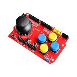 Joystick Shield for Arduino Analog Expansion Board Function Keyboard Mouse L6U8
