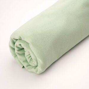 Bio Bündchen pastellgrün Stoffonkel grün