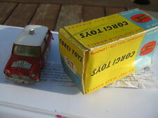 Corgi 317 Monte Carlo 1964 Winner Playworn Original In Worn Original Box & Slip.