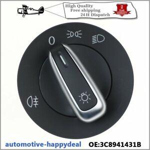 Headlight light Lamp Switch 3C8941431B For VW Golf MK5 6 Plus Jetta Passat