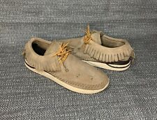 Visvim maliseet sand suede leather shoes size 9.5