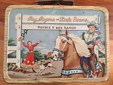 Vintage 1950's ROY ROGERS & DALE EVANS Metal Lunch Box