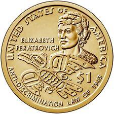 Sacagawea 2014-P  SAC$  Native American Golden Dollar Uncirculated