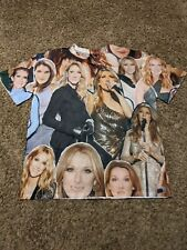 Subliworks Celine Dion All Over Print Photo Collage T Shirt mens size XL TITANIC