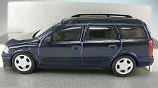 Schuco-Opel Astra G combi-metalizado azul - 1:43 - nuevo en OVP-Caravan