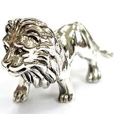 Objet de collection style victorien debout lion figurine argent sterling 925