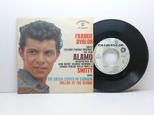 FRANKIE AVALON THE GREEN LEAVES OF THE SUMMER - BALLAD OF... CHANCELLOR CH 02031