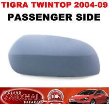 Vauxhall Tigra Convertible MOTO Specchietto Laterale Coprire PASSEGGERO Lato Vicino caso della PAC