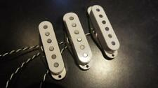 63 STRAT STYLE PICKUP SET, HANDMADE ALNICO 2 VERSION