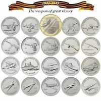 Russia 25 Weapons of great victory coin set 2019 2020 set of 20 coins 1941-1945