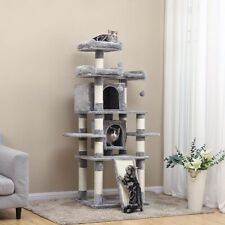 67'' 5 Tier Cat Tree Tower Condo Furniture Scratching Kitty Pet Play House