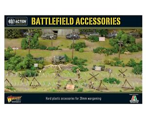 Warlord Games Bolt Action Battlefield Accessories Set 28mm Scale