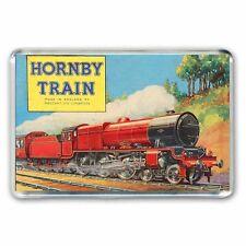 RETRO HORNBY  STEAM TRAIN  ARTWORK JUMBO  Fridge / Locker Magnet