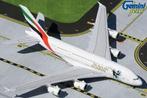 "GEMINI JETS EMIRATES A380-800 ""UAE IN SPACE"" 1:400 SCALE DIECAST METAL MODEL"