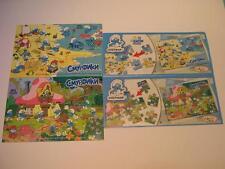 Kinder Schlümpfe Puzzle complet set DC270-271+ Bpz Russland