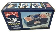 BICYCLE Automatic Card 1 or 2 Deck Shuffler Batteries Not Included
