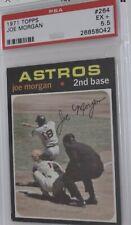 1971 Topps PSA 5.5 Joe Morgan