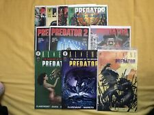 Lot of 10 Predator Comics Complete Big Game, 2 4 5 1 VF Very Fine