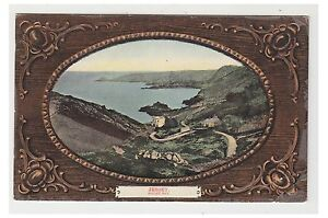 Jersey postcard - Bouley Bay - Embossed - (A50)