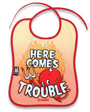 Six Bunnies Baby Bib - Here Comes Trouble