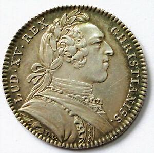 JETON LOUIS XV 1752.  ESTATS DE BRETAGNE  SIG. D.V.