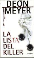 La Lista Del Killer ,Meyer, Deon  ,Edizioni Piemme,